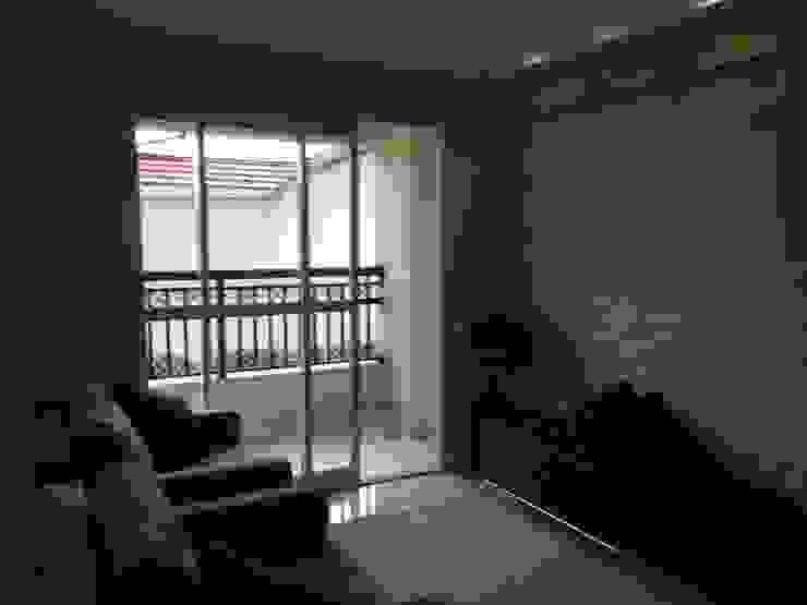 QUARTO DE CASAL Modern Living Room by STUDIO SPECIALE - ARQUITETURA & INTERIORES Modern Wood Wood effect