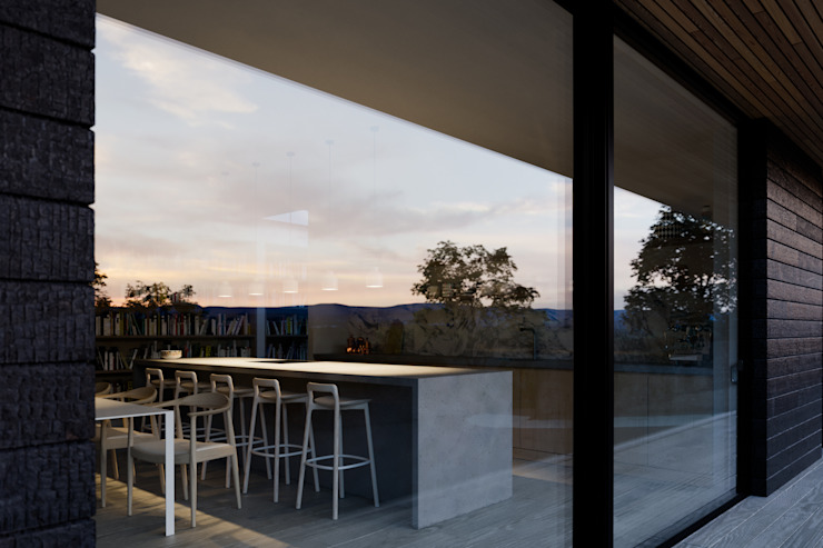 Kitchen window external Brown + Brown Architects Single family home