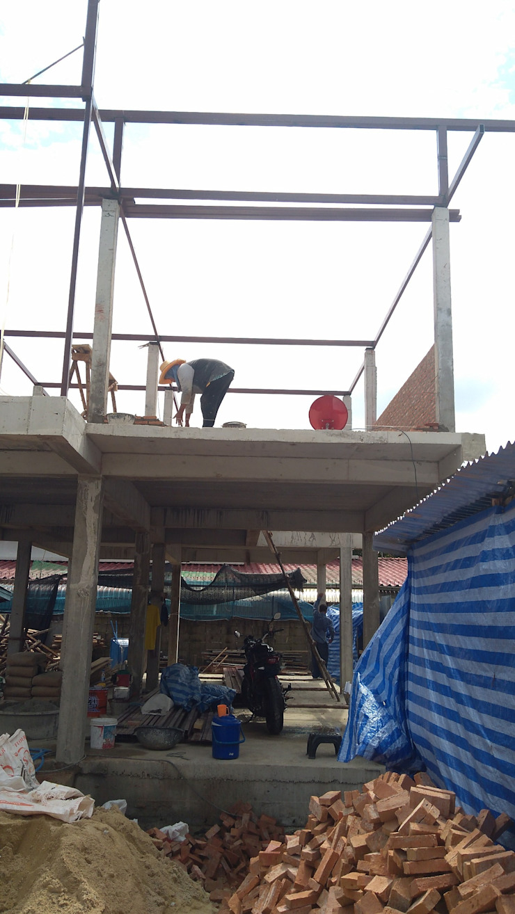 ออกแบบพร้อมสร้างบ้านพักอาศัย2ชั้น โดย KDC TEAM : โทร.096-0289288 ; By คุณหนุ่ม ทรอปิคอล