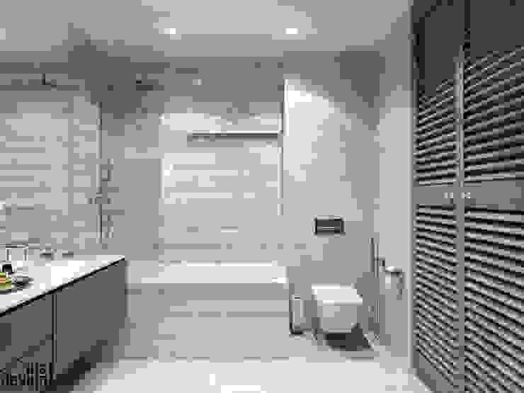 Salle de bain minimaliste par Y.F.architects Minimaliste