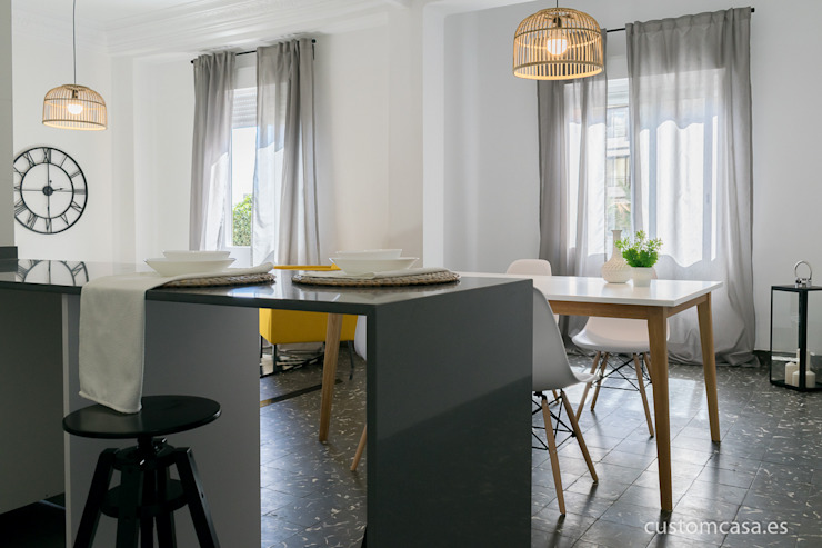 custom casa home staging Skandinavische Küchen