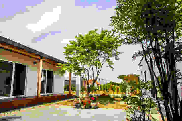삼시세끼 하우스 *2017 전북건축문화상 금상* 모던스타일 정원 by 건축스튜디오 사람 모던