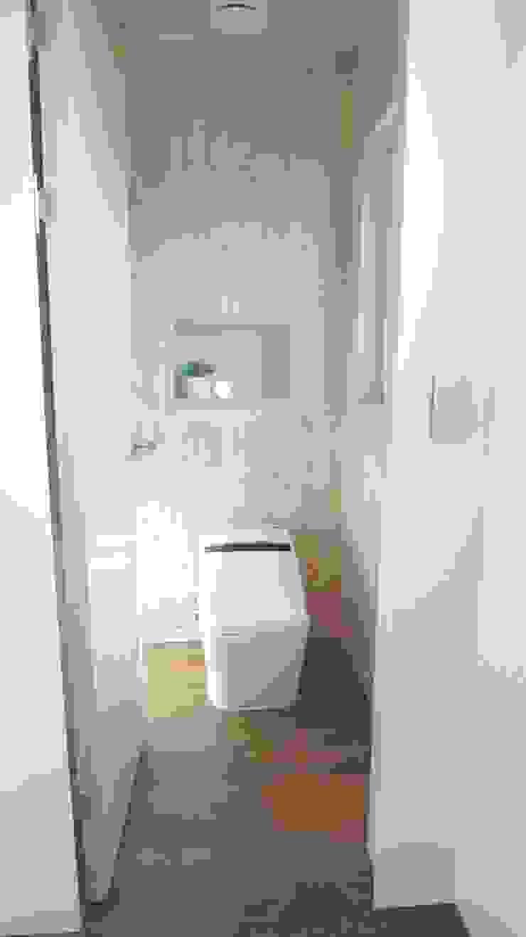 삼시세끼 하우스 *2017 전북건축문화상 금상* 모던스타일 욕실 by 건축스튜디오 사람 모던