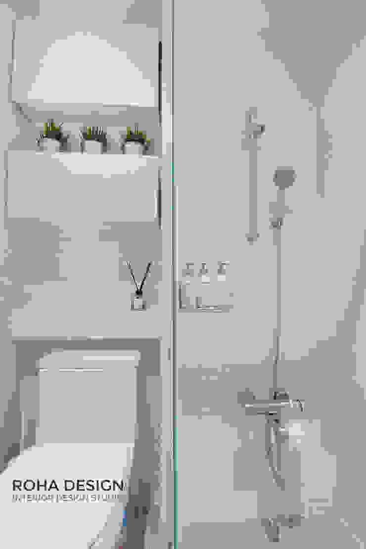 부산 북유럽 스타일 복층 아파트 인테리어 모던스타일 욕실 by 로하디자인 모던