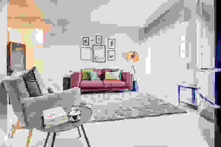 Santiago | Interior Design Studio Industriale Wohnzimmer