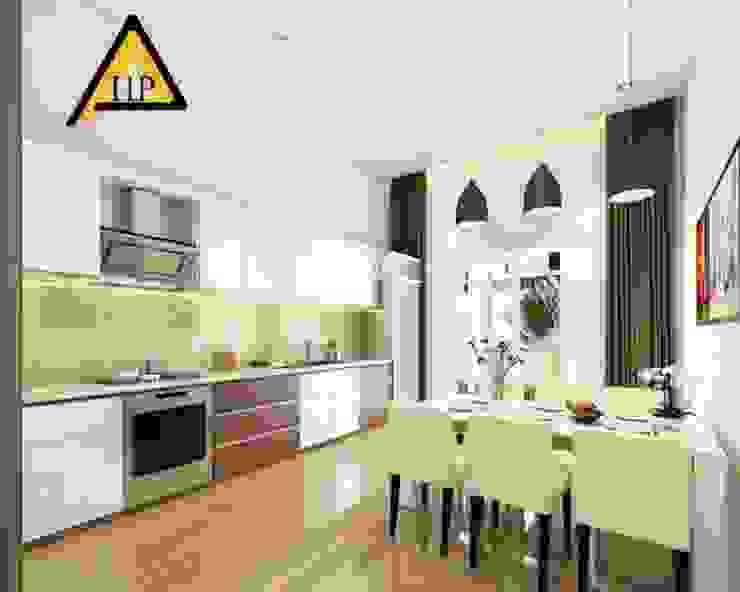 CTY KIẾN TRÚC VÀ NỘI THẤT HP-HOUSE 現代廚房設計點子、靈感&圖片