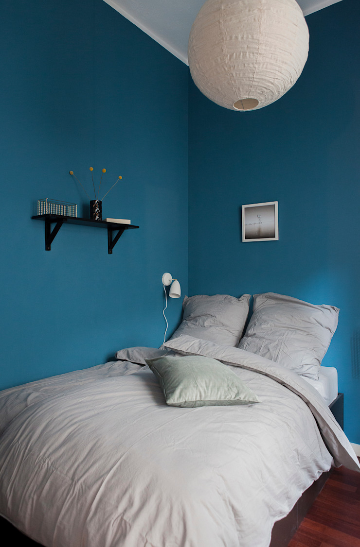 Eclectic style bedroom by VINTAGENCY Eclectic