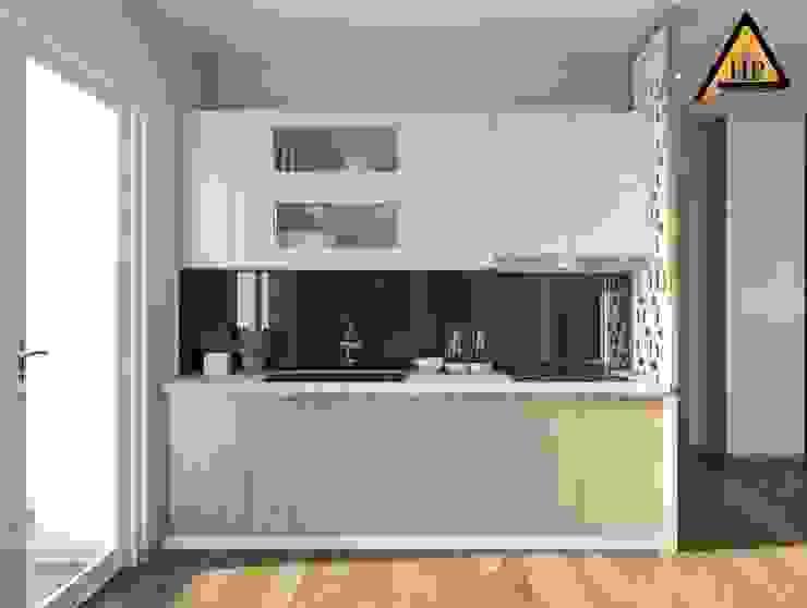 CTY KIẾN TRÚC VÀ NỘI THẤT HP-HOUSE Dapur Modern