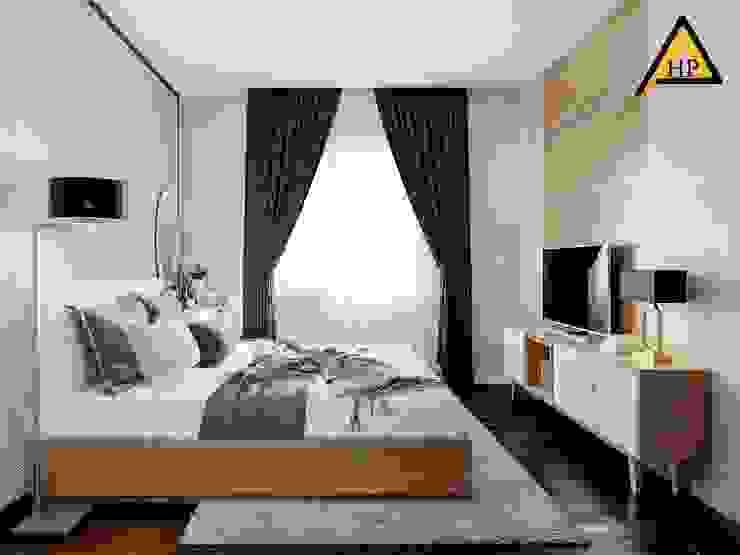 CTY KIẾN TRÚC VÀ NỘI THẤT HP-HOUSE Kamar Tidur Modern