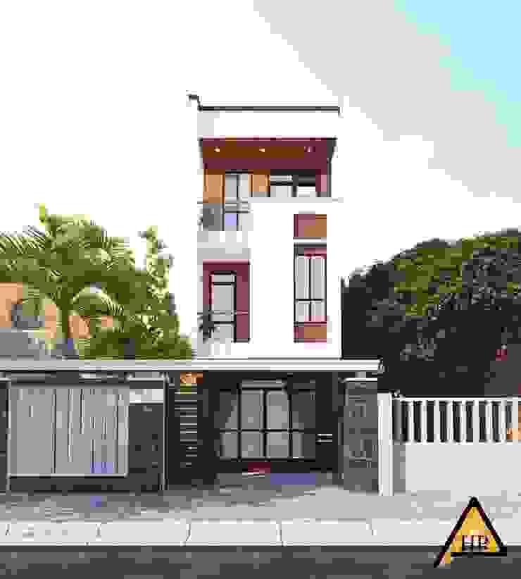 CTY KIẾN TRÚC VÀ NỘI THẤT HP-HOUSE 現代房屋設計點子、靈感 & 圖片