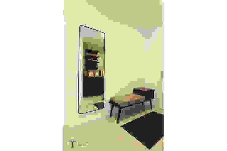 Cải tạo căn hộ tầng 7 Chung cư Ngọc Khánh Hành lang, sảnh & cầu thang phong cách Bắc Âu bởi AOTA atelier Bắc Âu