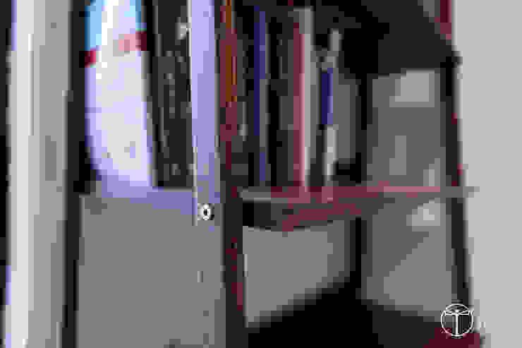Cải tạo căn hộ tầng 7 Chung cư Ngọc Khánh Tường & sàn phong cách Bắc Âu bởi AOTA atelier Bắc Âu