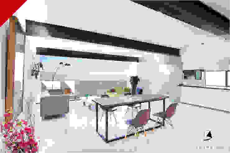 Tectónico Minimalist living room