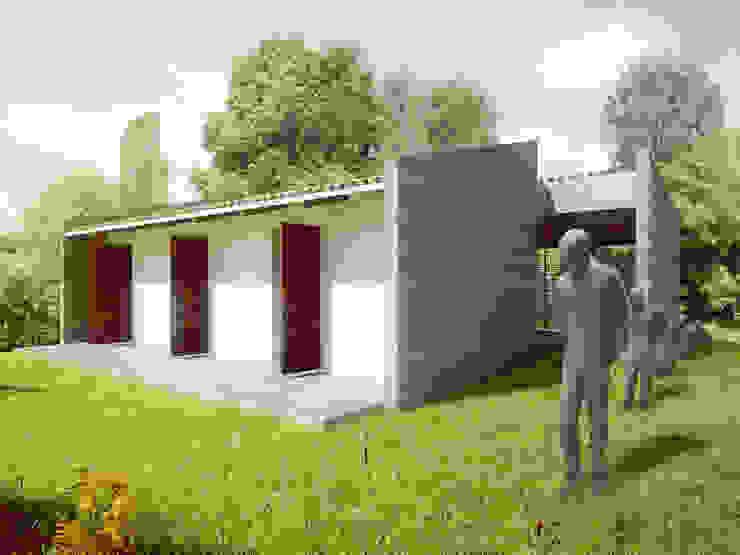 Modern style study/office by PLANTA BAJA ESTUDIO DE ARQUITECTURA Modern