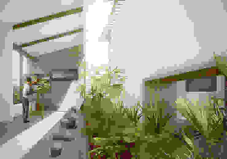 Estudios y despachos de estilo moderno de PLANTA BAJA ESTUDIO DE ARQUITECTURA Moderno