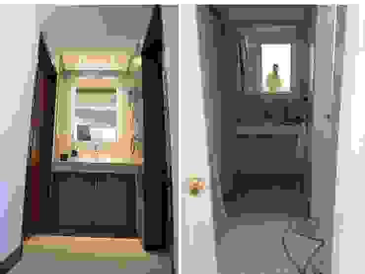 Salle de bains de style  par bouchez arquitectos,