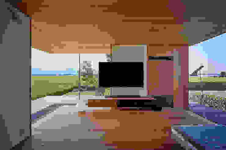 西七区の家 オリジナルデザインの リビング の ARTBOX建築工房一級建築士事務所 オリジナル 木 木目調