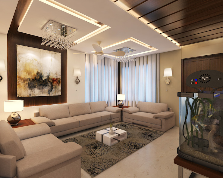 Drawing Room: modern  by Arch Point,Modern