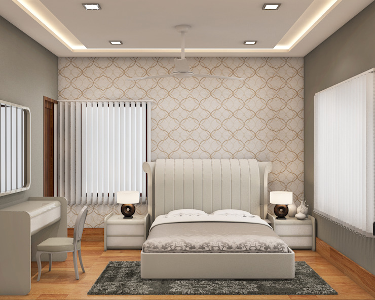Bedroom: modern  by Arch Point,Modern