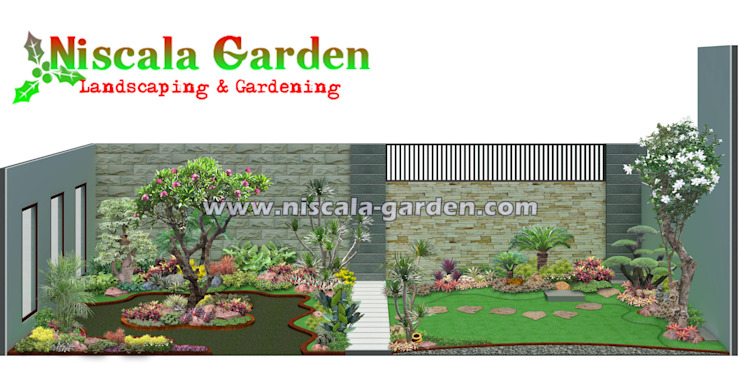 DESAIN TAMAN Oleh NISCALA GARDEN   Tukang Taman Surabaya