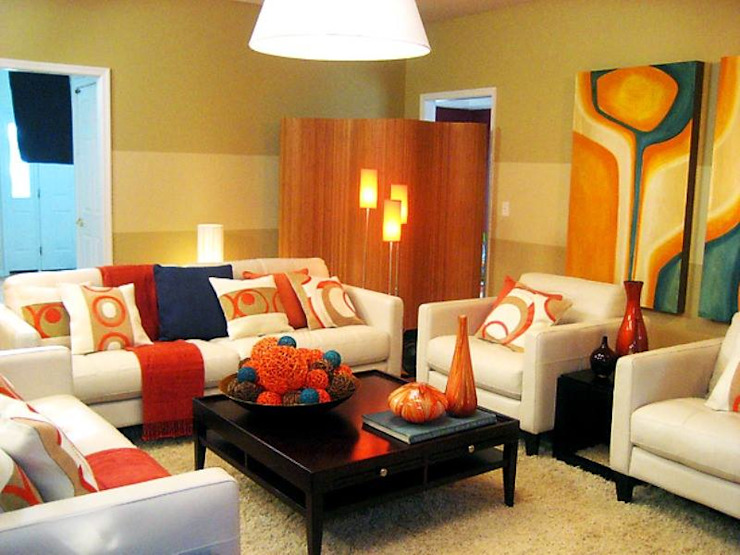 Spacio Collections WohnzimmerAccessoires und Dekoration Textil Gelb