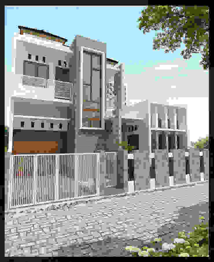 Rumah Bpk. Akhad Rumah Minimalis Oleh SUKAM STUDIO Minimalis