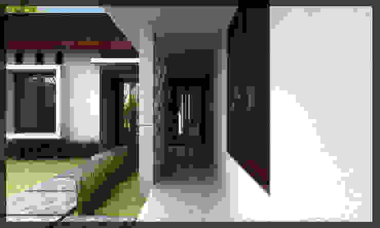 Rumah Bpk. Fajar Rumah Minimalis Oleh SUKAM STUDIO Minimalis