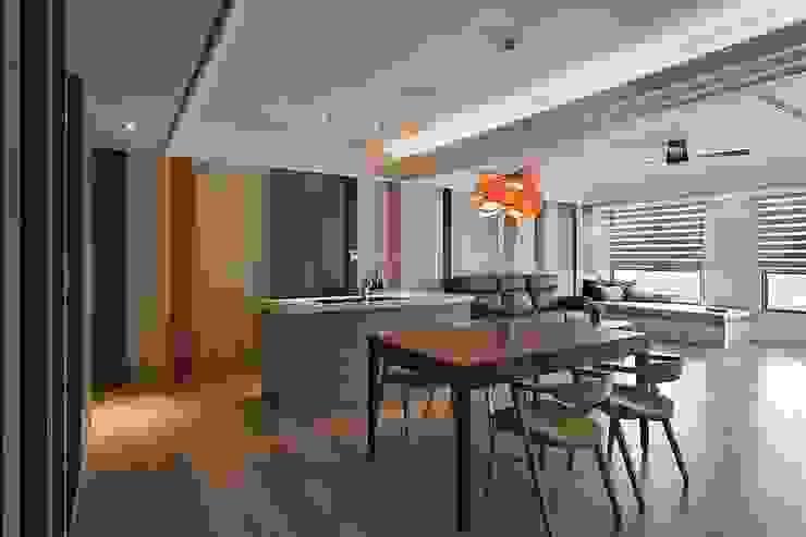 餐廳 根據 禾光室內裝修設計 ─ Her Guang Design 現代風