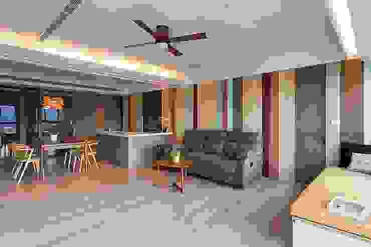 客廳 禾光室內裝修設計 ─ Her Guang Design 现代客厅設計點子、靈感 & 圖片