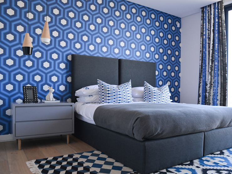 Colour Kaleidoscope:  Bedroom by Studio Mitchell, Modern