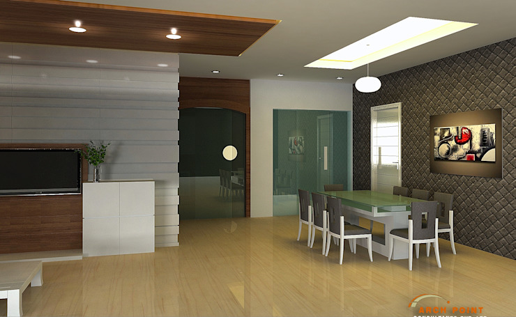 Living Space: modern  by Arch Point,Modern