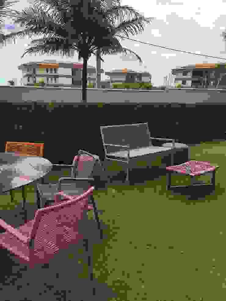 Casa de Praia Modern Garden by brunadiogenes.liviafeitosa Modern