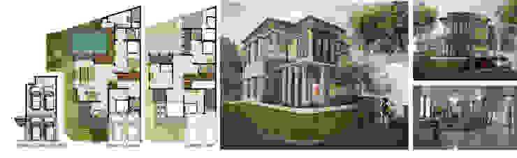 Rumah tinggal Kebayoran Village Bintaro Oleh Manasara Design&Build