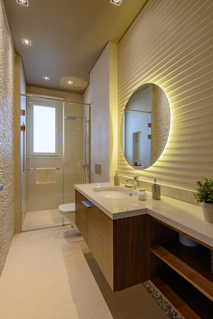 North Coast Villa Modern bathroom by Hossam Nabil - Architects & Designers Modern