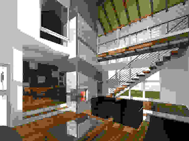 Vista interior living comedor de artefacto arquitectura Moderno