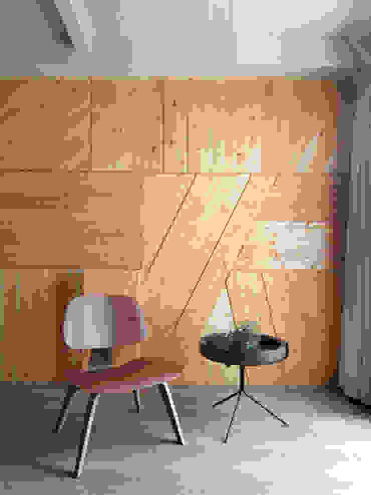 老屋翻新大改造 根據 夏禾創作有限公司 簡約風 實木 Multicolored