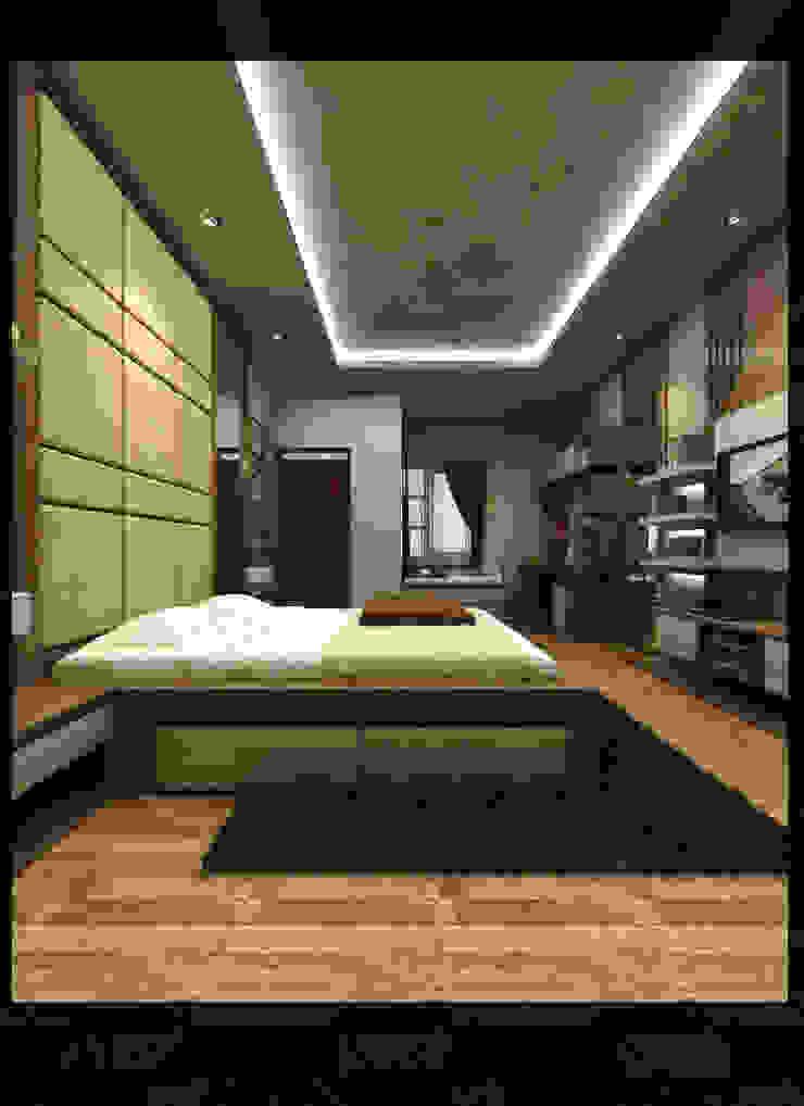 Interior Kamar Anak Bpk. Gunawan Kamar Tidur Minimalis Oleh SUKAM STUDIO Minimalis