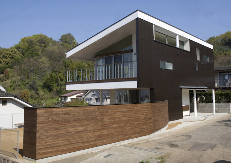 Passive house by Y.Architectural Design, Modern Iron/Steel