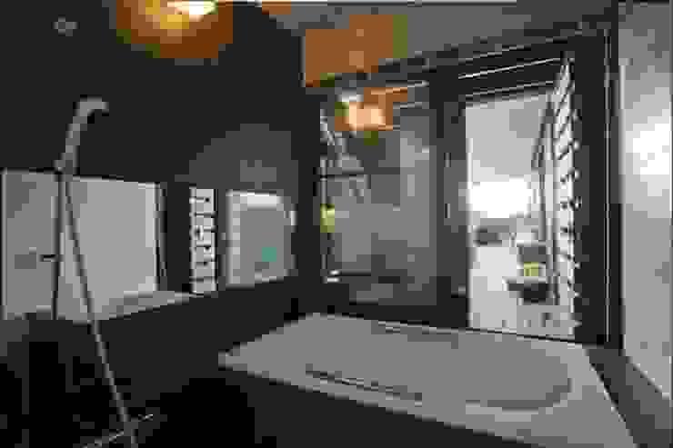 Modern bathroom by Y.Architectural Design Modern Tiles