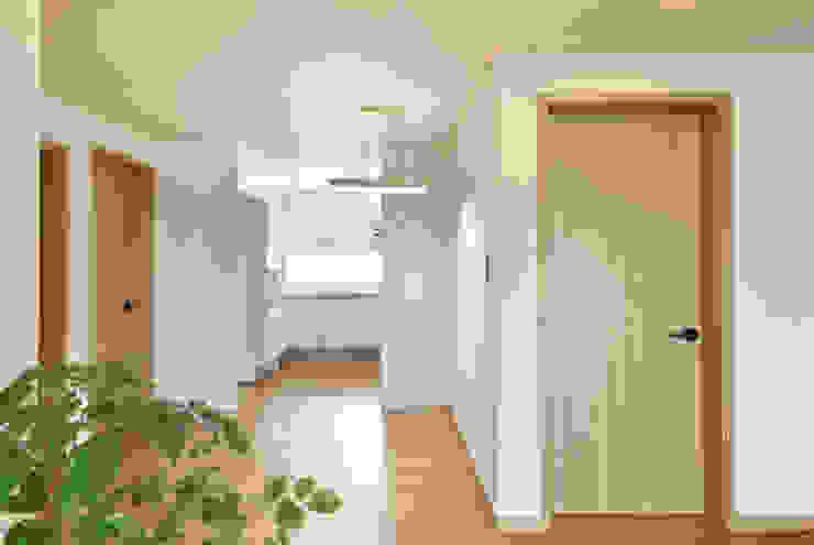 신목동 3단지 한옥스타일 아파트 인테리어 모던스타일 다이닝 룸 by (주)더블유디자인 모던