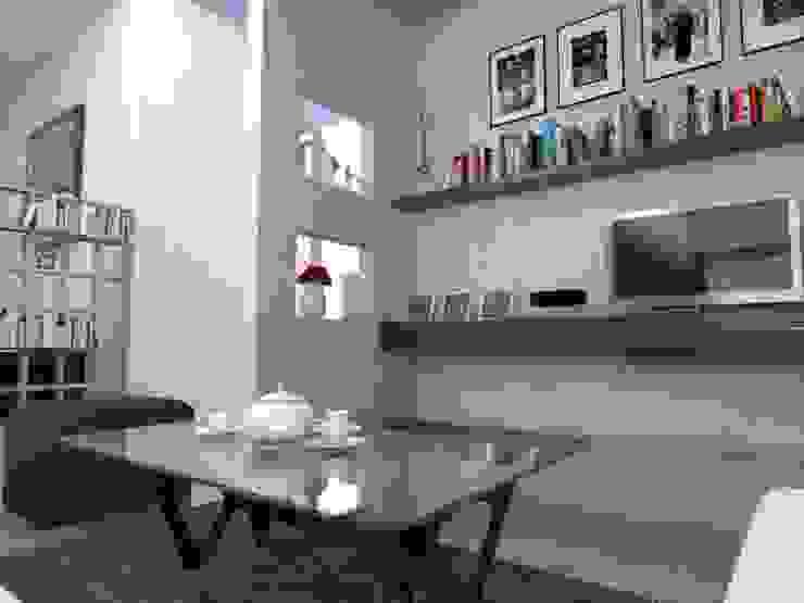 Interior Ruang Keluarga Manasara Design&Build