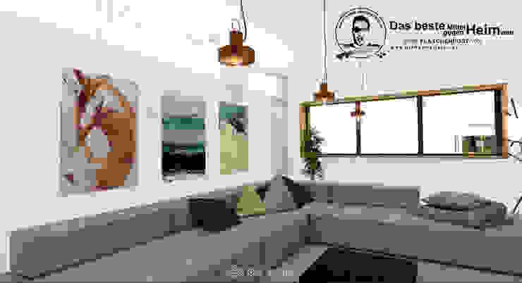 Wohnzimmer Moderne Wohnzimmer von DIE RAUMPIRATEN® Modern