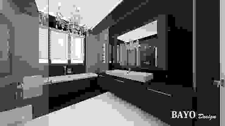 Bathroom Banheiros modernos por BAYO Design Interior Design Studio Moderno