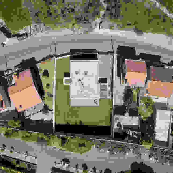 Maisons minimalistes par Raulino Silva Arquitecto Unip. Lda Minimaliste Aluminium/Zinc