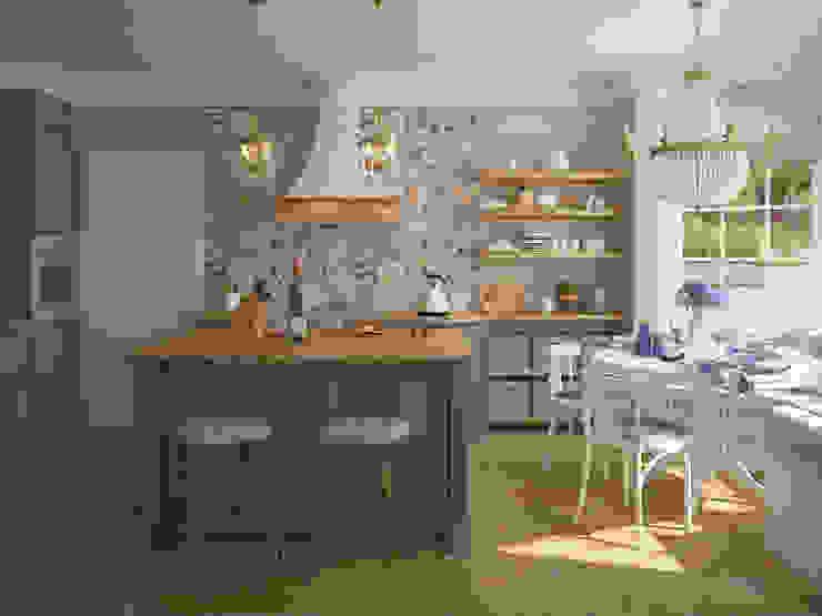 French country interior design Tamriko Interior Design Studio Country style kitchen
