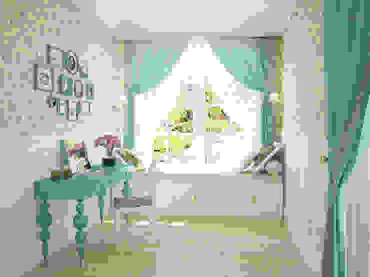 Dormitorios de estilo rural de Tamriko Interior Design Studio Rural