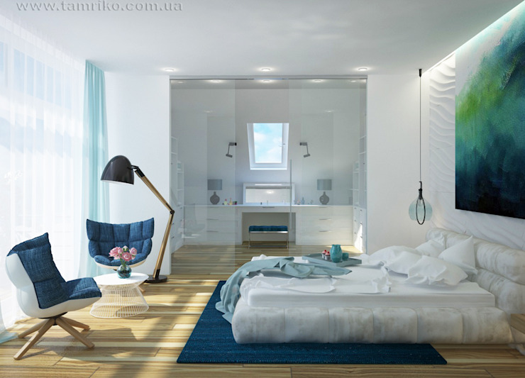 Bedroom by Tamriko Interior Design Studio, Minimalist