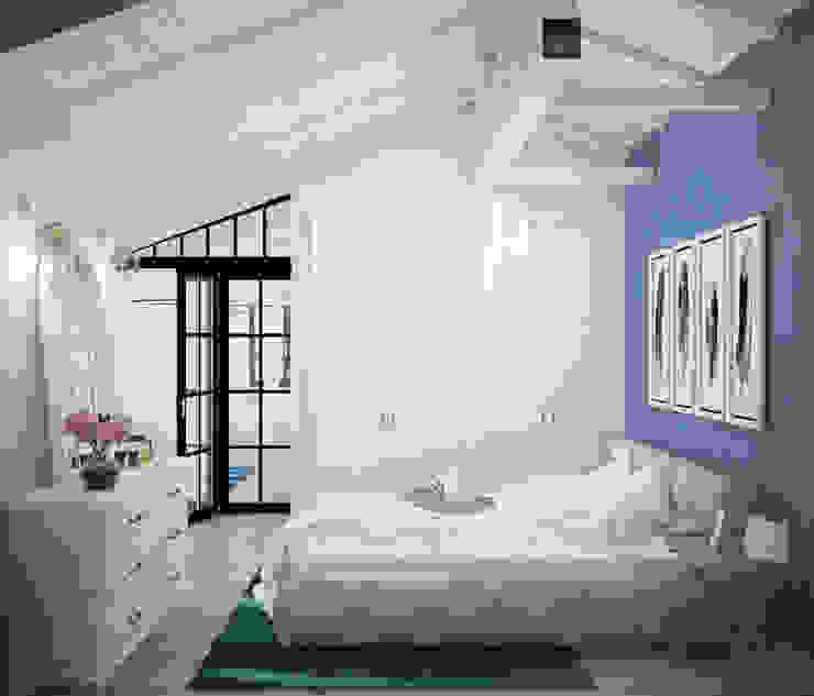 Loft Interior Design Industrial style bedroom by Tamriko Interior Design Studio Industrial