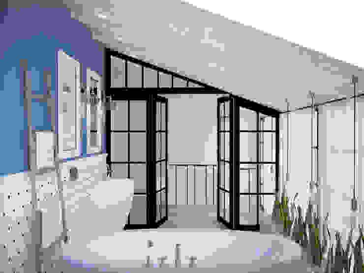 Baños de estilo industrial de Tamriko Interior Design Studio Industrial