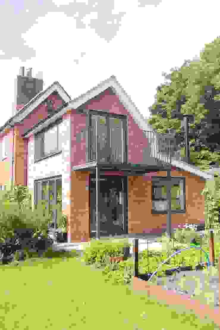 Double Height Garden Room Extension Lincolnshire Wohnzimmer im Landhausstil von JMAD Architecture (previously known as Jenny McIntee Architectural Design) Landhaus